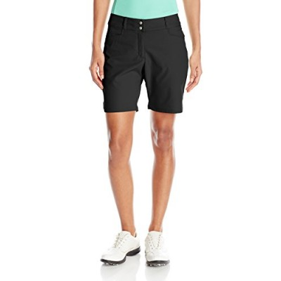 adidas Golf Women's Essentials Shorts, Black, Size 0