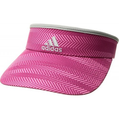 adidas Women's Match Visor, Ratio Bahia Magenta/Clear Onix/Grey, One Size