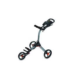 Bag Boy Compact 3 Push Cart - Battleship Gray/Orange Compact 3 Push Cart -