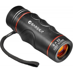 BARSKA Blueline 8x22 Waterproof Golf Scope (Yards)
