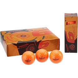 Bridgestone Golf 2015 e6 Golf Balls, Orange , Pack of 12