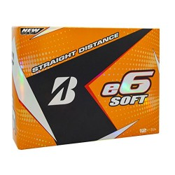 Bridgestone Golf E6 Soft White 2017 e6 Soft White (12-Ball Pack)