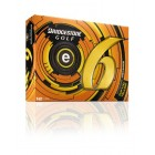 Bridgestone Golf 2013 e6 Golf Balls (Pack of 12), Yellow