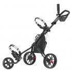 CaddyTek CaddyLite 11.5 V3 Deluxe Golf Push Cart, Black