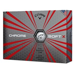 Callaway 2017 Chrome Soft X (One Dozen) White