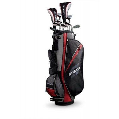 Callaway Men's Strata Complete Golf Club Set with Bag (13-Piece), Right Hand