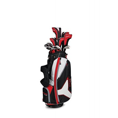 Callaway Strata Tour Complete Set (Right Hand, Regular Flex, Stand Bag), DR, 3W, 5W, 4H, 5H, 6I, 7I, 8I, 9I, PW, SW, Putter, Bag, 5 Head Covers