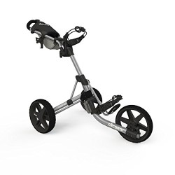 Clicgear 3.5+ Push Cart, Silver