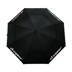 "Clicgear 68"" Double Canopy Golf Umbrella (Black)"