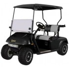 EZGO TXT Body and Cowl Golf Cart Package, Black, 48-Inch