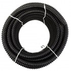 "1"" x 50' HydroMaxx® Black Metric Non Kink Corrugated PVC Water Garden Pond Hose and Tubing"