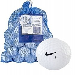 Nike AAA+ Mixed Recycled Golf Balls  (Pack of 48 Balls)