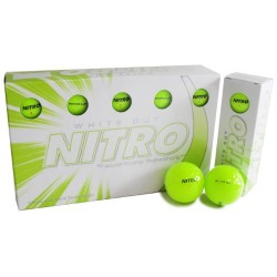 Nitro White Out Ball (15-Pack), Yellow