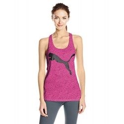 PUMA Women's Essential Dri-Release Tank Top, Knockout Pink Heather, XS