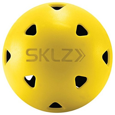 SKLZ Impact Golf Balls (Pack of 12) Limited True Flight Hitting Impact Golf Balls, Dent Resistant and Long Lasting, Stronger Alternative to Plastic...