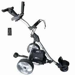 "Spin It Golf Products GC1R ""Easy Trek"" Remote Controlled Electric Golf Cart, Silver"