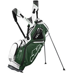 Sun Mountain 4.5 LS 4 Way Stand Golf Bag, Green/White/Black