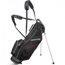 Sun Mountain Front 9 Stand Golf Bag, Gunmetal/Black/Red