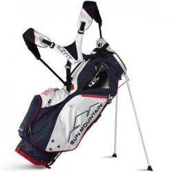 Sun Mountain Golf 2018 4.5 LS Stand Bag NAVY-WHT-RED (Navy/White/Red)
