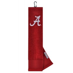 Alabama Crimson Tide Face/Club Embroidered Towel