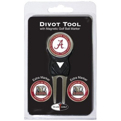 NCAA Alabama Crimson Tide Divot Tool Pack With 3 Golf Ball Markers