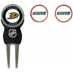 NHL Anaheim Ducks Divot Tool Pack With 3 Golf Ball Markers