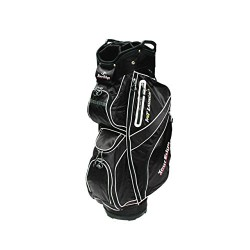 Tour Edge Golf Hot Launch 2 Cart Bag Black