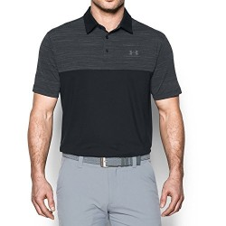 Under Armour Men's Playoff Polo, Black/Black, XX-Large