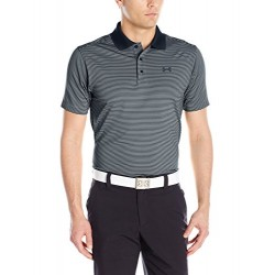 Under Armour Men's Release Polo, Steel/Stealth Gray, Medium